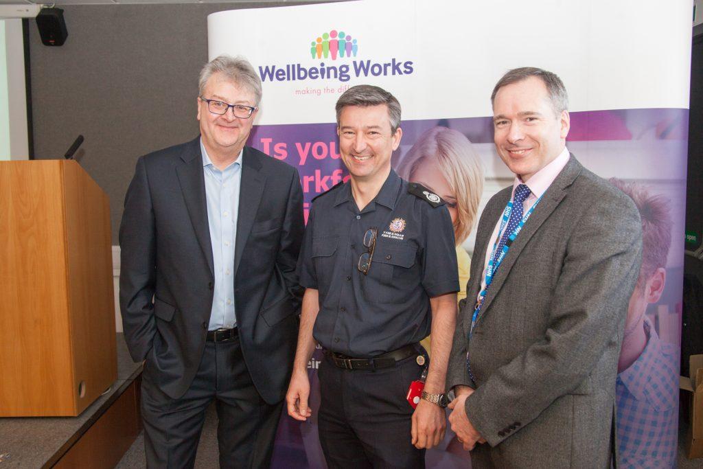 Hamish Moore, John Baines, Steve Williamson
